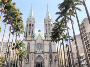 Metropolitan Katedrale in Sao Paulo, Brasilien