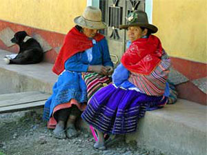 Locals in Huaraz