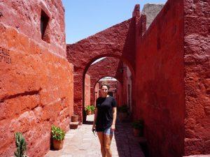 Klooster Arequipa rondreis Peru