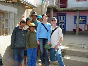 lokale familie, reis Peru, Bolivia en Chili