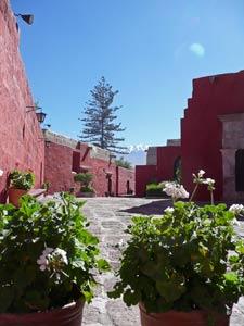 Klimaat - uitzicht vanuit het Catalina klooster Arequipa
