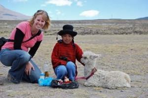 Meisje met bolhoed - Arequipa