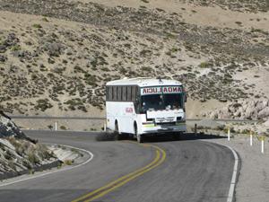Met de bus door Bolivia