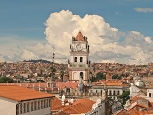 Sucre in Bolivia - Peru reis