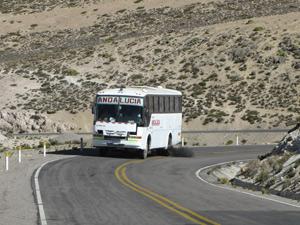 Bus - Bolivia rondreis