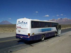 Bus Puno Titicaca
