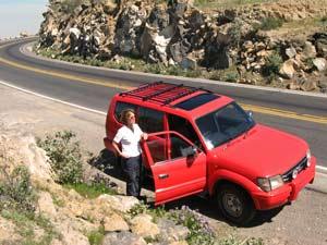 Met een 4wd door Colca Canyon