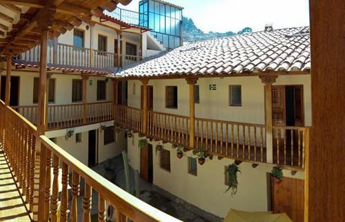Patio hotel Cusco - Peru reis