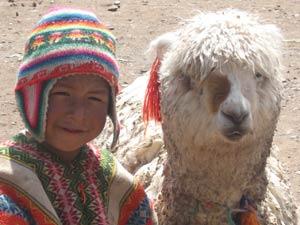 Jose en zijn Lama - Cusco
