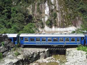 Trein - Cusco Peru rondreis