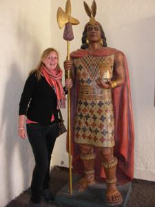 Inka museum - Peru rondreis
