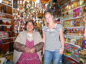 (Pan)fluitend door La Paz