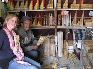 panfluiten rondreis Peru, Bolivia, Chili