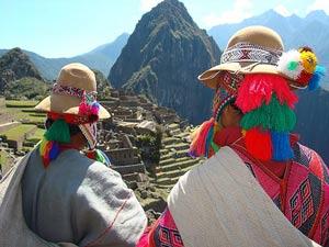 Locals Machu Picchu