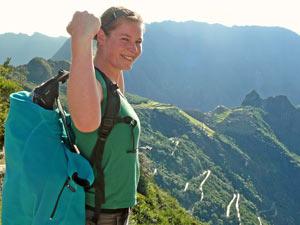 Machu Picchu - Incatrail kort
