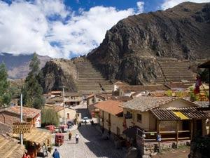 Ruïne Ollantaytambo - Peru reizen