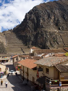 Ruïnes Ollantaytambo - Peru rondreis