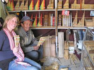 panfluit, rondreis Chili, Bolvia en Peru