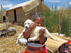 Peru reis compleet - Urosmeisje