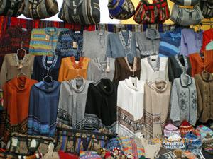 Pisac markt - Inca Trail