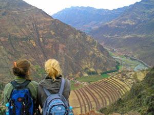 Pisac uitzicht - Peru reis