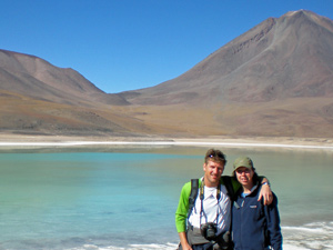 Laguna Verde - rondreis Bolivia