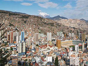 Uitzicht over La Paz - rondreis Bolivia