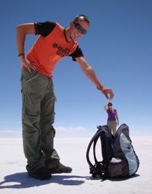 Rondreis Bolivia: zoutvlakte