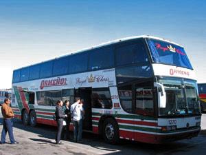 Royal class bus - Peru