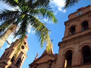 Rondreis Peru Bolivia - Santa Cruz Plaza