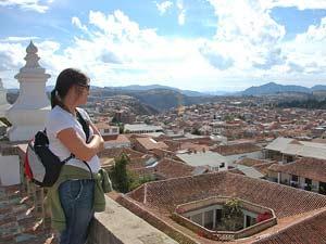 Uitzicht over Sucre
