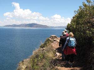 Wandelen op Taquila - reizen Peru