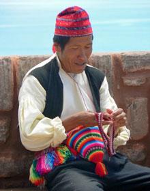 rondreis Peru - bolhoeden en indianen