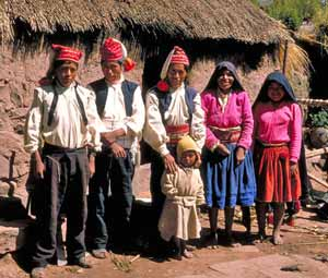 Titicaca familie - Peru rondreis