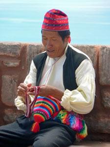 Amantani Peru reis Titicaca