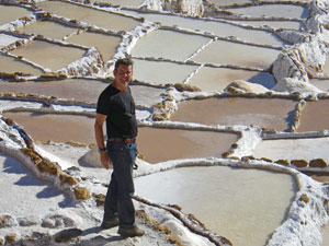 Zoutpannen Urubamba - reizen Peru