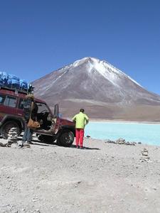 Laguna verde - Bolivia en Peru