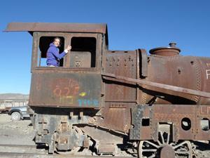 Trein Uyuni - reizen Bolivia
