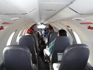 vlucht vanaf Uyuni - Bolivia rondreis