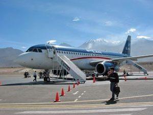 Peru comfort reis vervoer vliegen