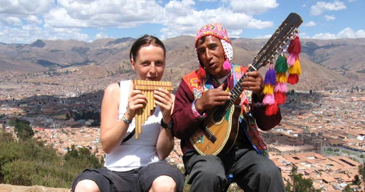 Peru rondreis panfluit