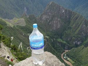 Peru gezondheid, water drinken