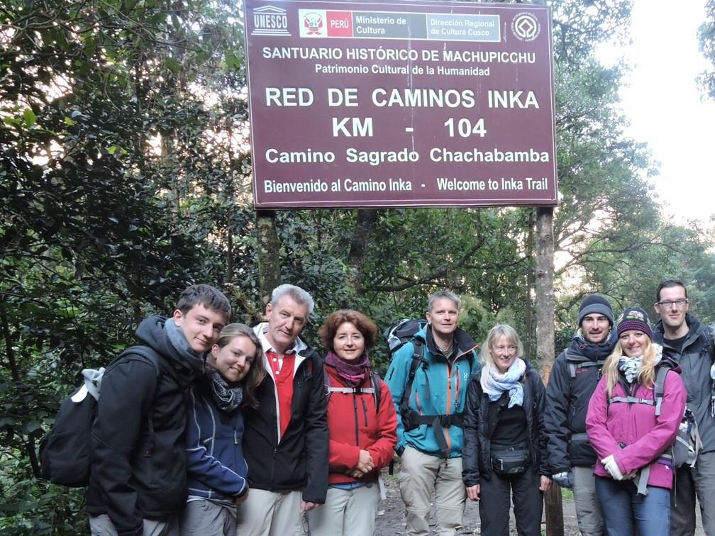 peru groep reizigers