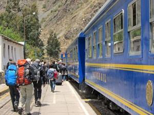 peru machupicchu hike trein