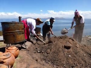 Lake Titicaca koken