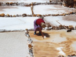 heilige vallei - zoutpannen van moray