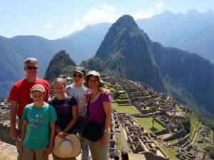 Peru Familiereis - Machu Picchu