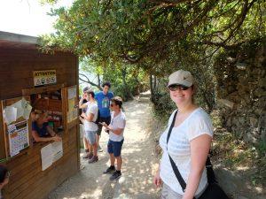 Wanderung Cinque Terre Blumenküste Ligurien Nationalpark