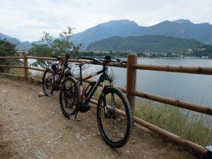 Norditalien Gardasee Mountainbike Fahrradausflug