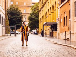 Rom Reise Schweizer Garde Vatikan